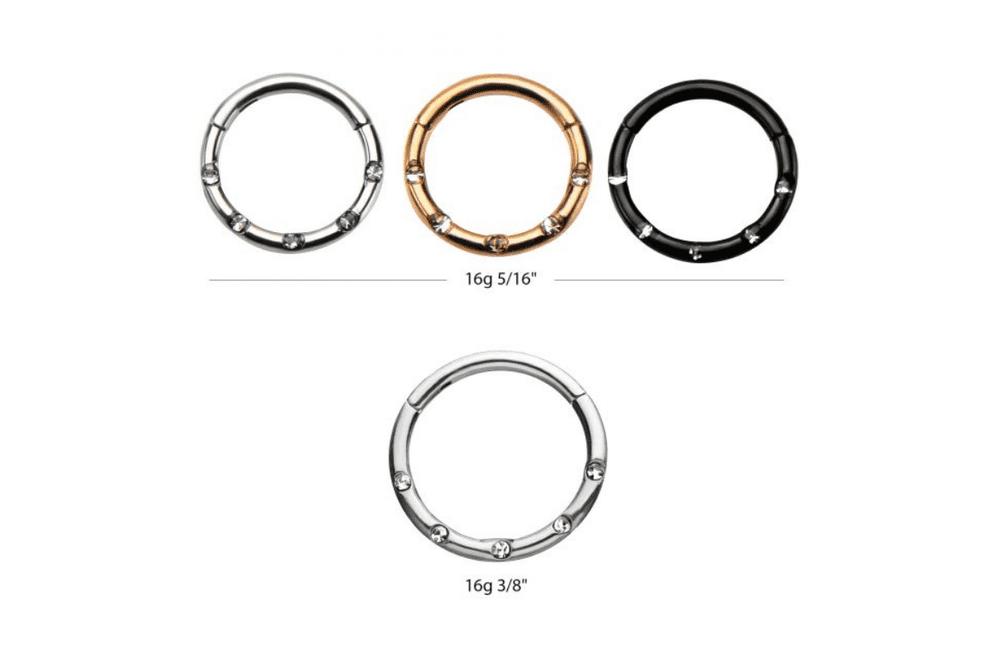 Clicker Ring - Demetra Steel