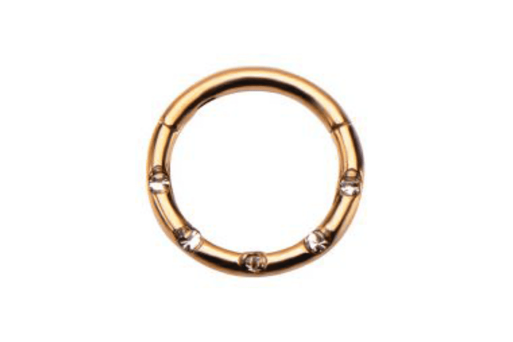 Clicker Ring - Demetra Rose Gold Plated