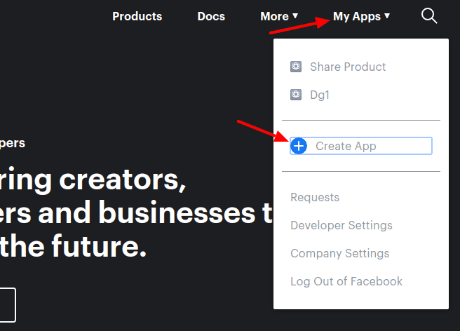 create app step1