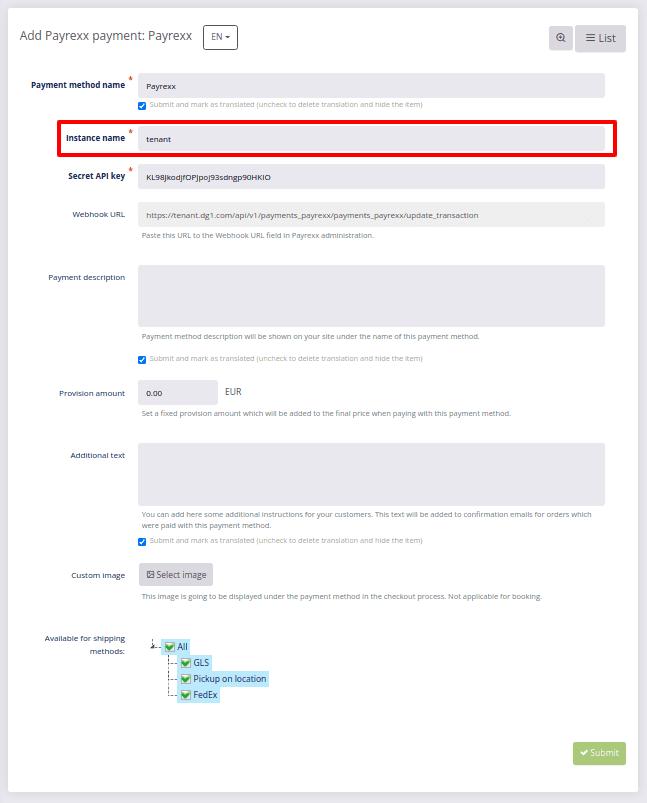 Payrex Details