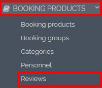 Booking reviews
