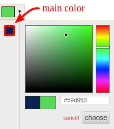 Coolor palet
