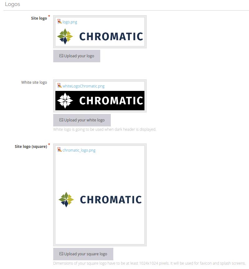 logos Chromatic