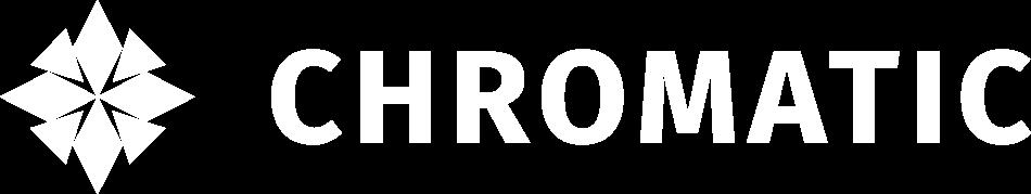 white Logo Chromatic