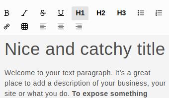 textFormating