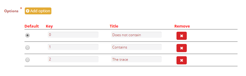 select type attribute