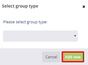 group type