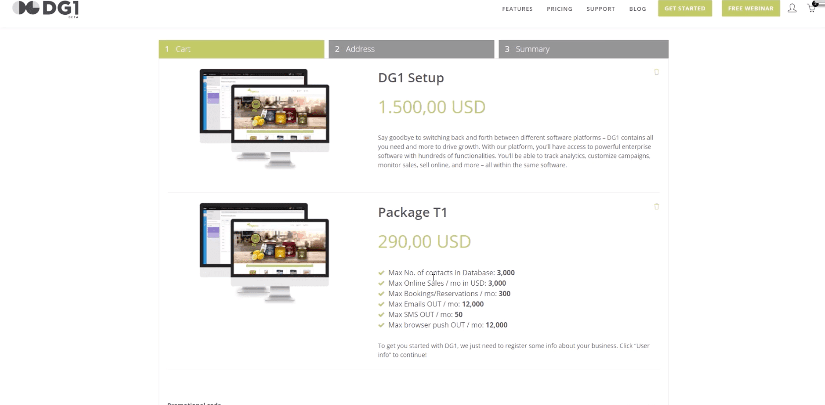 Video -  DG1 - Purchase