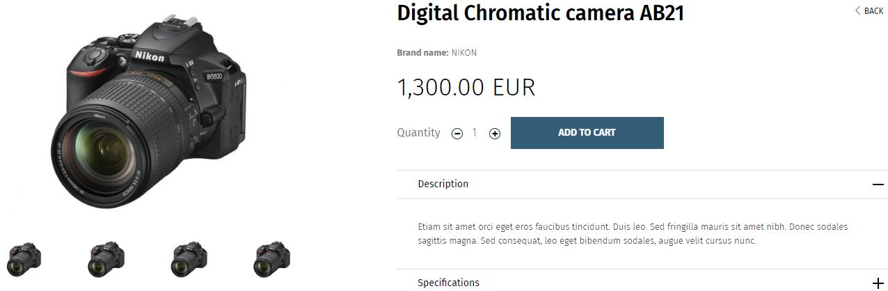 Digital Chromatic camera