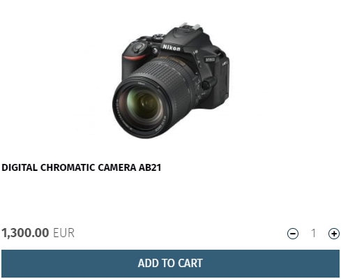 Current offer